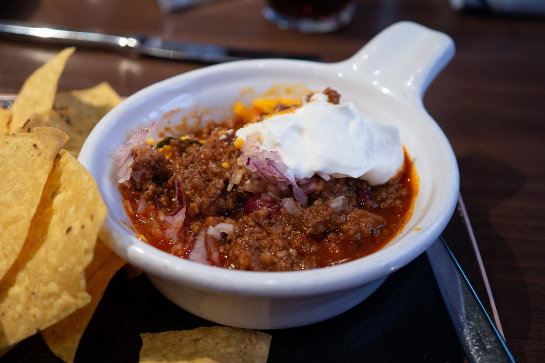 January's featured commodity is beef chili without beans